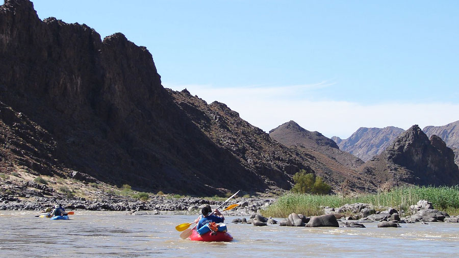 Orange River rafting, South Africa
